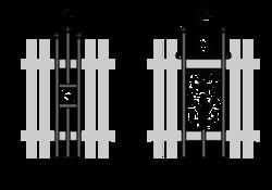 Palisaden-Quadrette-Berlinette